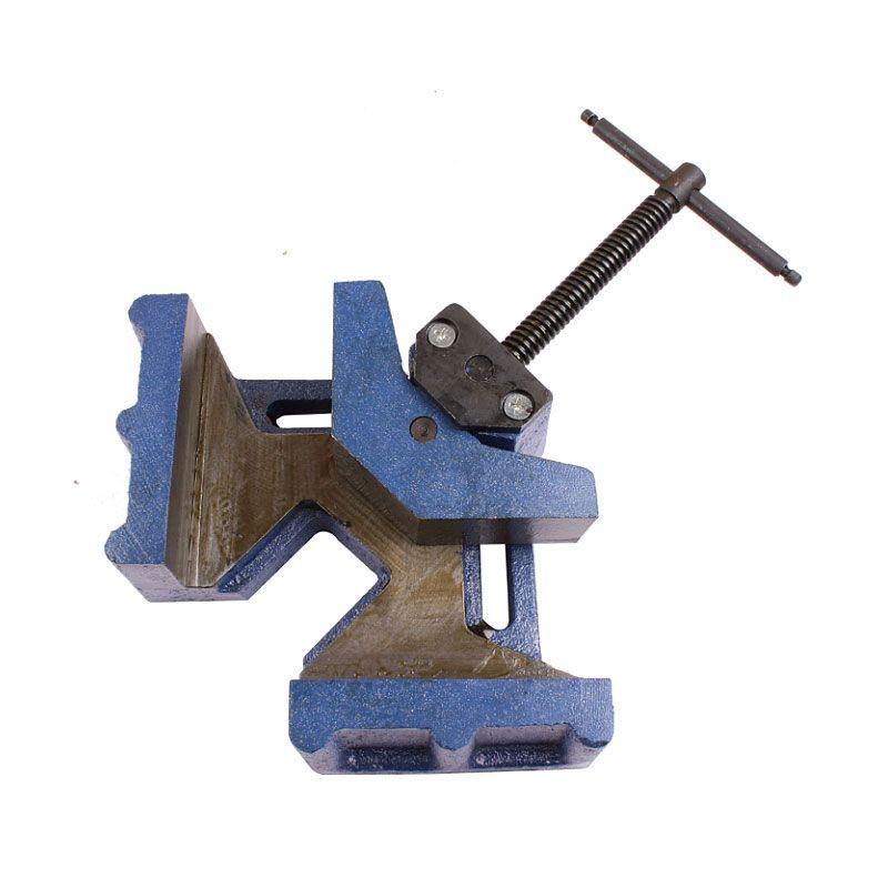 Livraison gratuite 90 degrés Angle droit soudé robuste montage de soudage pince d'angle pince mâchoire Angle pince poignée outil