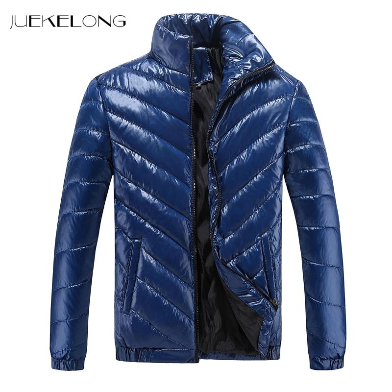 2018 Men's Winter Hooded Cotton Jacket Quilted Outerwear men's coat winter brand man clothes Thick winter coat