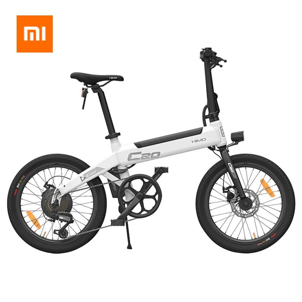 100% Original Xiaomi HIMO C20 Elektrische Fahrrad 250 W Motor ebike 25 km/h e bike 80 KM Laufleistung Outdoor Elektrische bike 20 zoll Reifen