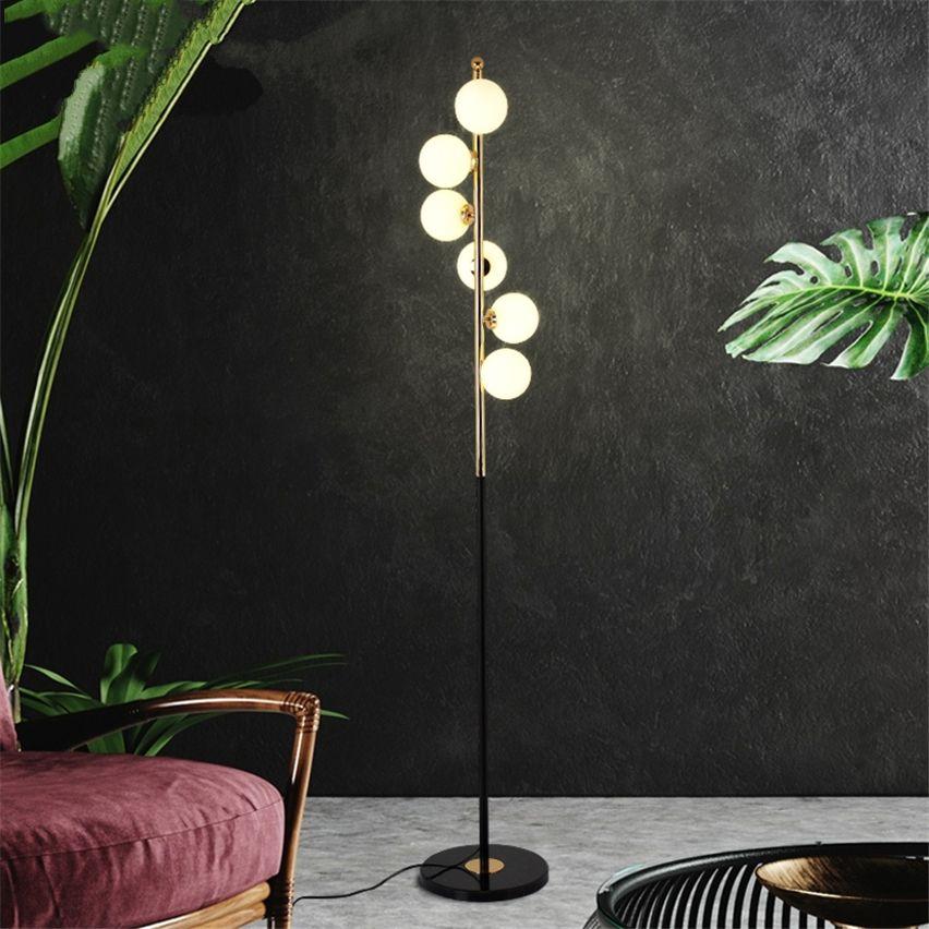 Moderne Licht Nordic Led Designer Boden Lampen Blase Glas Dekor Leuchtet Wohnzimmer Studie Schlafzimmer Stehend Lampe Leuchten
