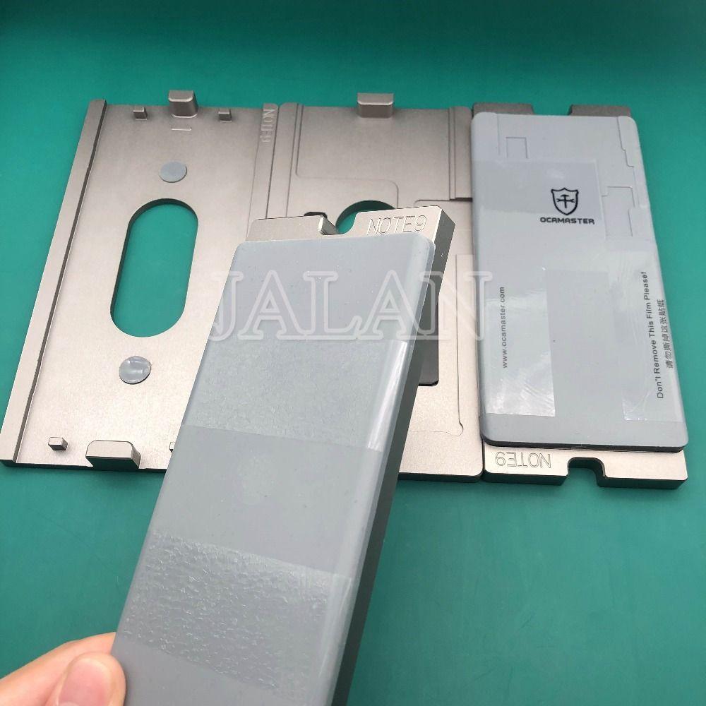 Neue OCA MASTER ausrichtung form für Samsung Hinweis 9 LCD OCA GLAS laminieren form universal für alle typ laminator s7 rand s8 s8 +