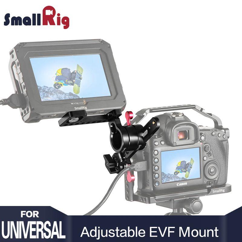SmallRig DSLR Camera Rig Adjustable EVF Mount with ARRI Rosette Quick Release For Monitor & Viewfinder Support 1938