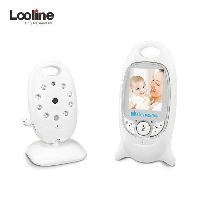 Infant 2.0 Inch Wireless Color Baby Monitor Baby Nanny Security Camera Baby Radio Babysitter Baby Camera Temperature Monitoring