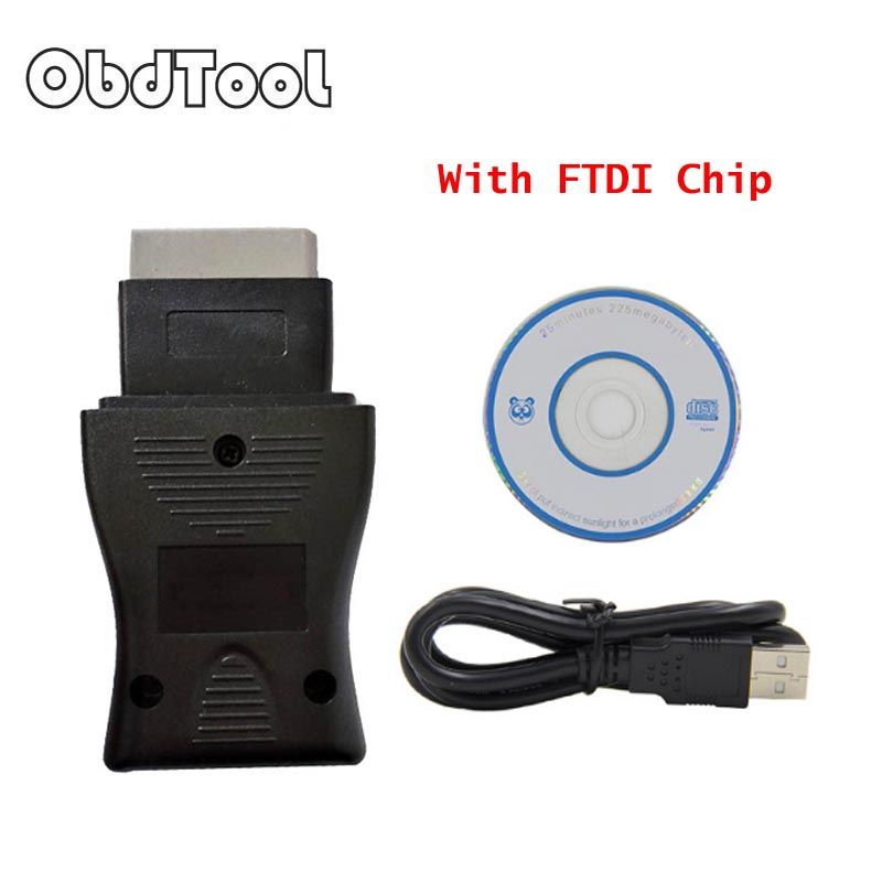 ObdTool New Arrival For Nisan Cnsult USB 14pin cable Diagnostic Interface OBD2 OBDII Scanner usb 14Pin cable Free Shipping LR10
