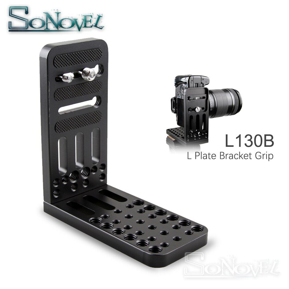 Quick Release L Plate Bracket 1/4 Screw Mount For Canon EOS 1500D 850D 800D 760D 750D 200D 77D 70D 60D 5Ds 6D 7D 5D Mark II/III