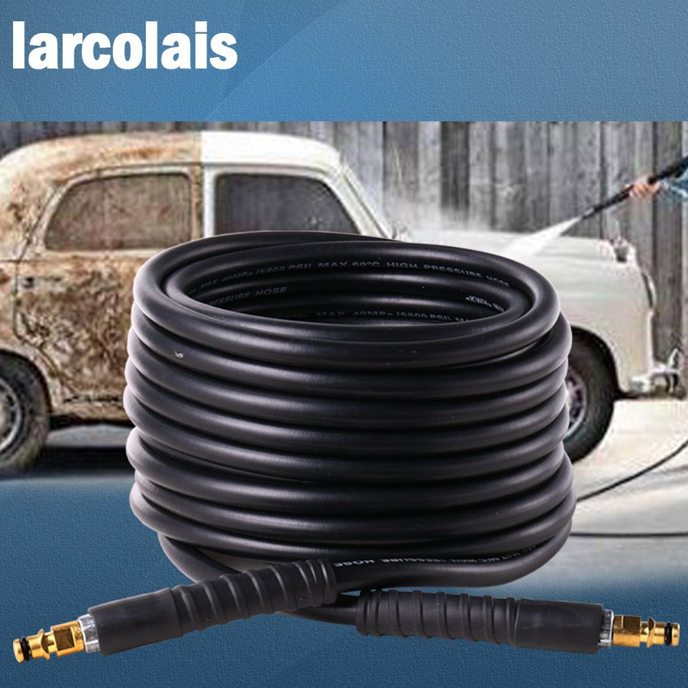 10 Meters High Pressure Washer Water Cleaning Hose for Karcher K2 K3 K4 K5 K6 K7 High Pressure Cleaner