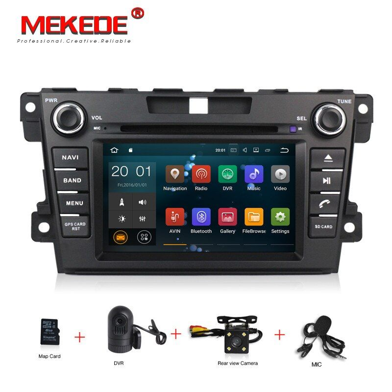 HD 2 Din Android 7.1 CAR DVD Player For Mazda CX7 CX 7 CX-7 2007-2013-2017 With GPS Navigation RDS AM FM Map Canbus Head units