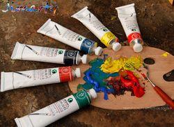 Professionnel toutes les couleurs 50 ml chaque tube peintures À L'huile couleurs peinture dessin pigments art fournitures AOA011