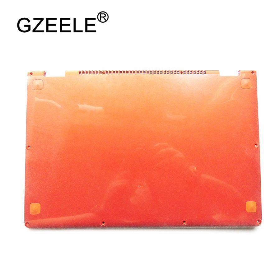 GZEELE Laptop Ersetzen Abdeckung Für Lenovo YOGA 13 orange D shell 11S30500246 Laptop Bottom Basis Abdeckung niedrigeren fall