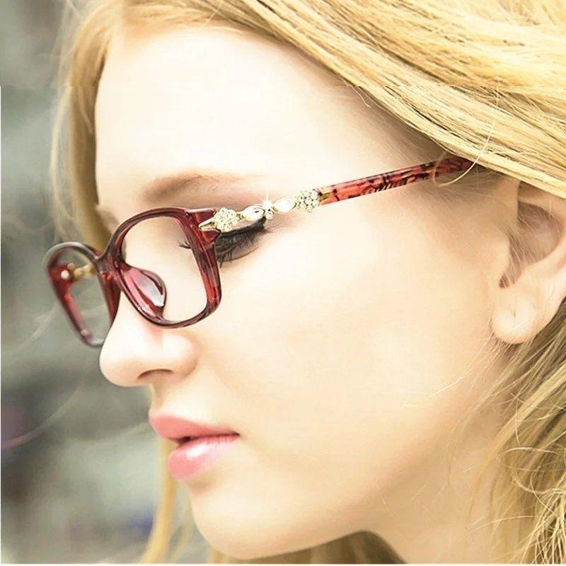 Kottdo Мода ретро глаз Очки Рамки оптический Очки Винтаж diamond Очки Для женщин для чтения Очки Óculos femininos Gafas