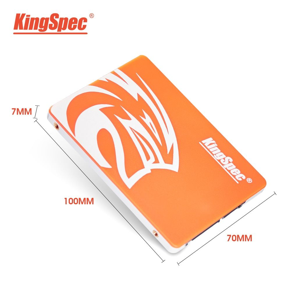 KingSpec SSD HDD 2.5 SATA3 SSD 120GB SATA III 240GB SSD 480GB SSD 960gb 7mm Internal Solid State Drive for Desktop Laptop PC