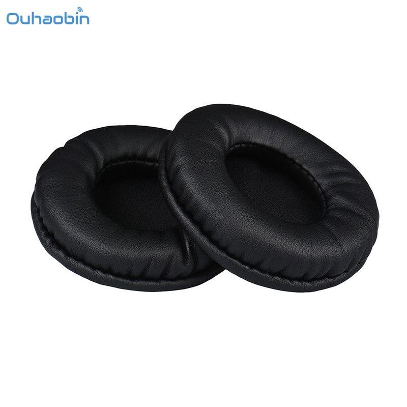 Ouhaobin Beliebte 1 Para Protein Leder Ersatz Ohrpolster 75 MM Kopfhörer Hochwertige Studio Kopfhörer Polsterset der Sep1