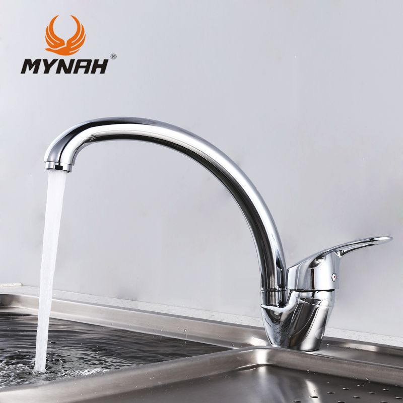 MYNAH Russia free shipping Kitchen Faucet mixer crane washing everything for the kitchen Kitchen Sink