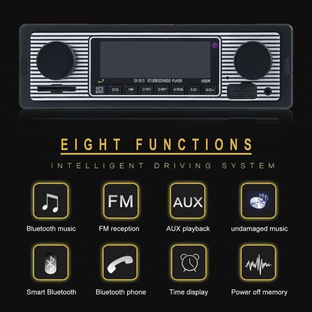 USB/SD/MMC/MP3/WMA Player With Radio Receiver Multifunction Bluetooth Handsfree Calling U Disk Card Radio Car Bluetooth Radio