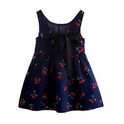Date Style D'été Bébé Enfant Coton Gilet Princesse Filles Robe Nouveau-Né Infantile Robe Vêtements Mignon Fleur Robes