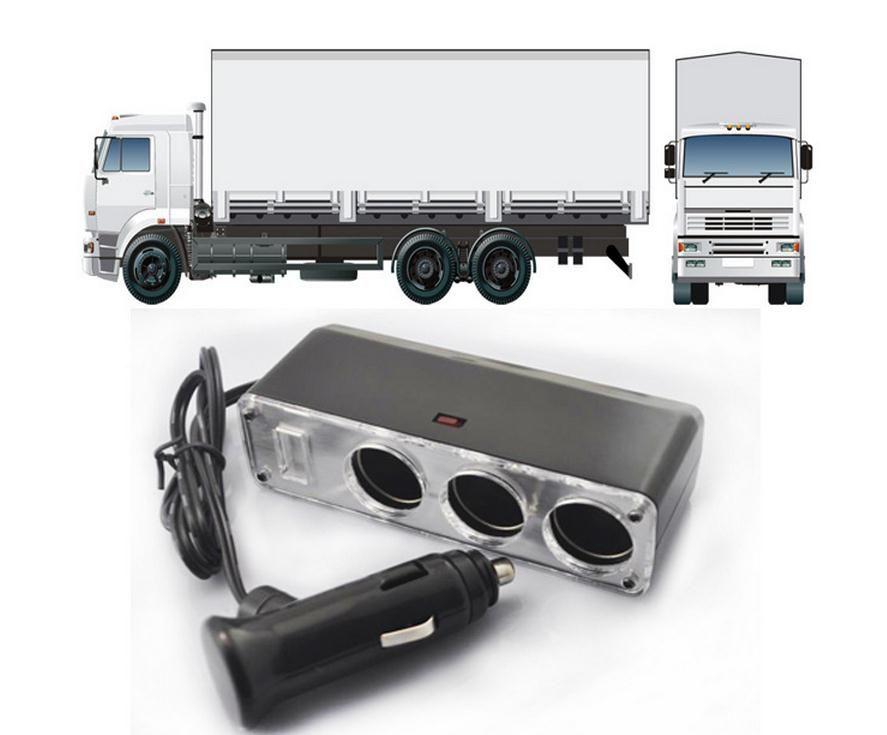 60 w 60 watts 24 v réduire à 12 v camion sur-tension d'alimentation de la carte convertisseur, 24 v convertir 12 v trois trous sortie de camion
