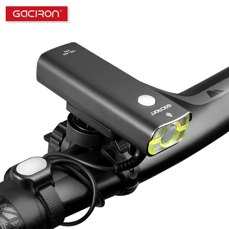 GACIRON Cycling WaterProof led lights usb rechargeable mini bike 400 <font><b>Lumens</b></font> handlebar front light bicycle accessories