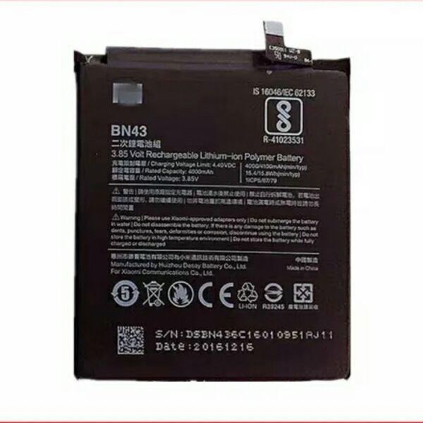 Für Xiaomi Redmi Hinweis 4X4 X Batterie 4000/4100 mAh BN43 Batterie Bateria