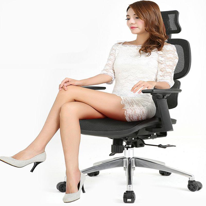 Ergonomie Bürostuhl Mesh Tuch Waistguard Multifunktions Computer Stuhl Liege Angehoben Gaming Stuhl Haushalt Drehstuhl