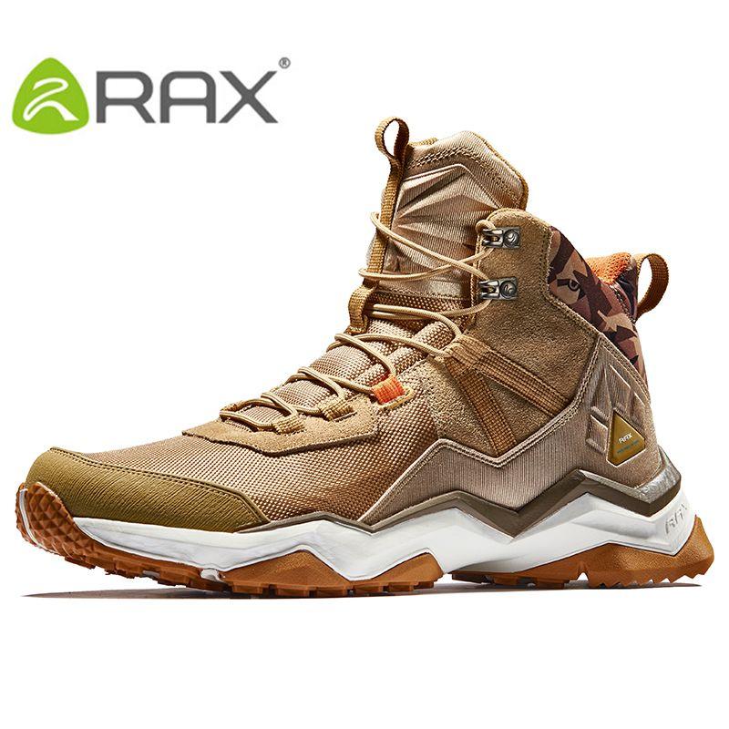 RAX Men's Lightweight Cushioning Antislip Hiking Shoes Climbing Trekking Mountaineering Shoe For Men Outdoor Multi-terrian Shoes
