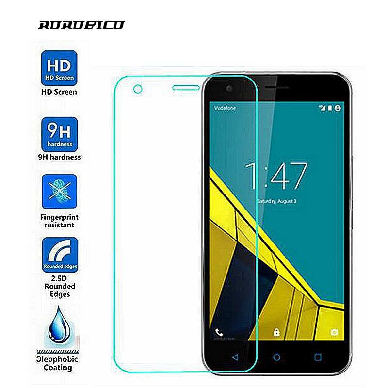 ROROBICO For Vodafone Smart Grand 6 Grand6 Screen Protector film 0.26mm 2.5D 9H Premium Front Film Toughened Tempered Glass