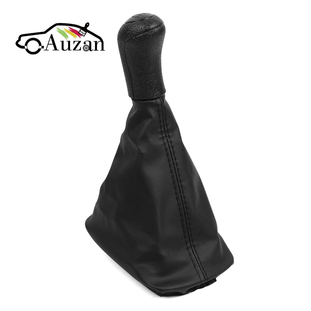 for Skoda Octavia A4 5 Speed Gear Shift Knob With Holster Black Cover 1997-2010