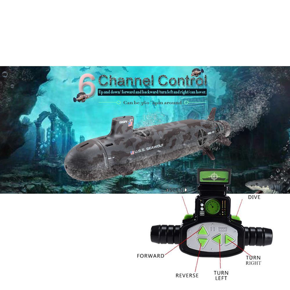 13000 U.S.S Seawolf fernbedienung Submarine RC 6-kanal Modell Kernenergie Navy Fernbedienung Motorboot Elektrische Spielzeug