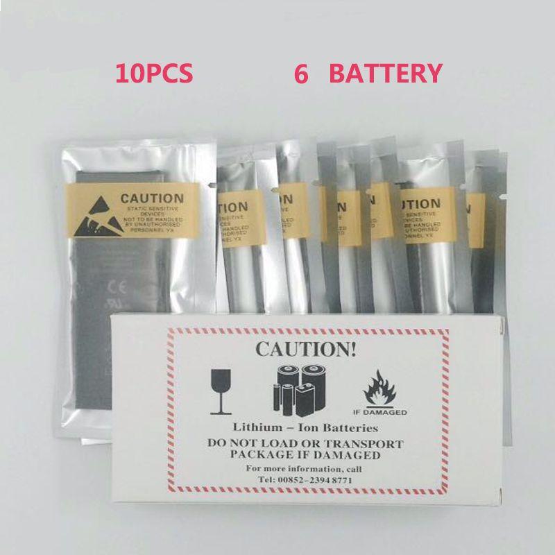 10 teile/los null zyklus neueste 1810 mah ersatz batterie für iphone 6