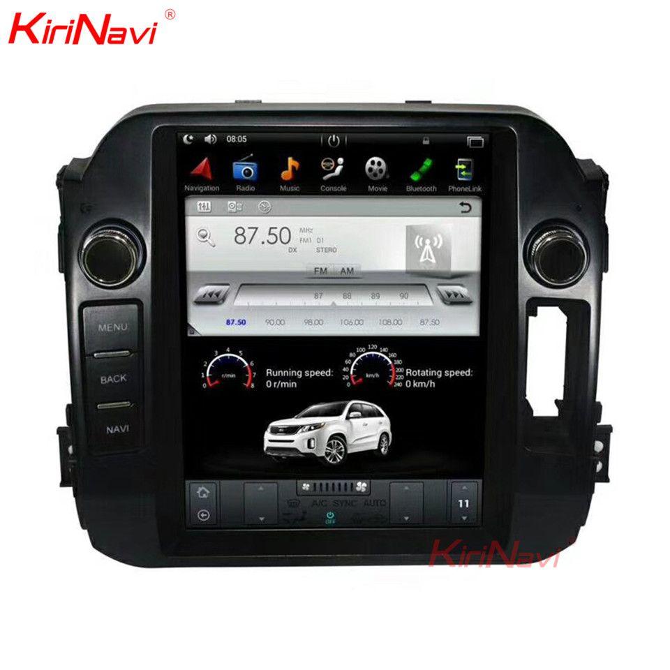 KiriNavi Vertikale Bildschirm Tesla Stil 10,4 Zoll Android 7.1 Auto GPS Navigation DVD Player Für Kia Sportage Auto Radio 2010- 2015