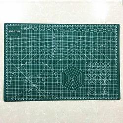 PVC Tapis De Coupe A3 45*30 cm Durable Auto Guérison BRICOLAGE À La Main Quilting Accessoires Flexible Vert Patchwork Conseil Traceur