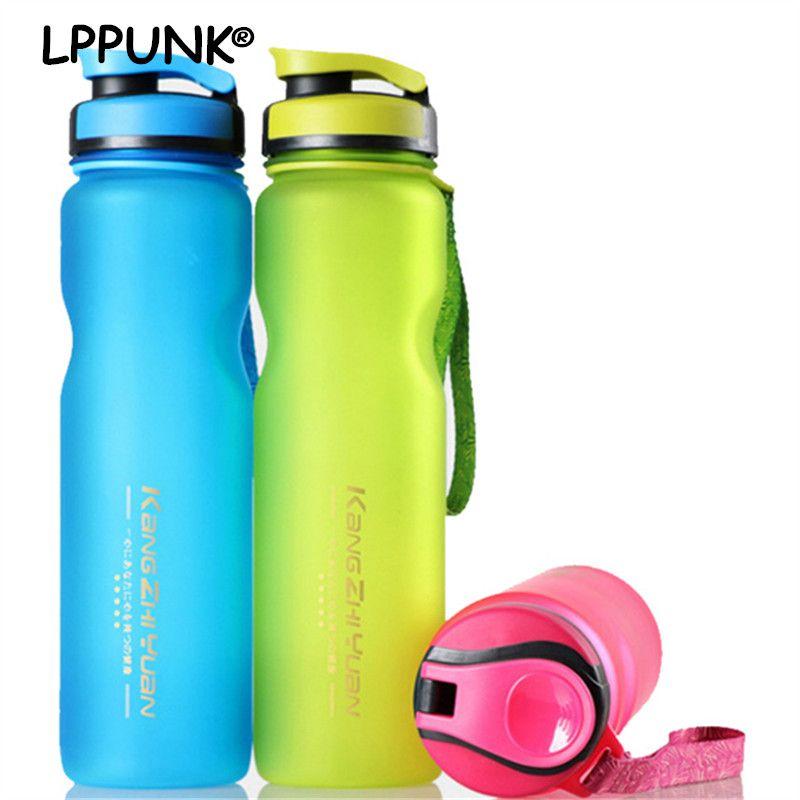1L SANS BPA portable En Plastique Potable thé infuser L'eau Bouteilles GIVRÉ Espace Sport En Plein Air de jus de fruits Vélo Bouilloire