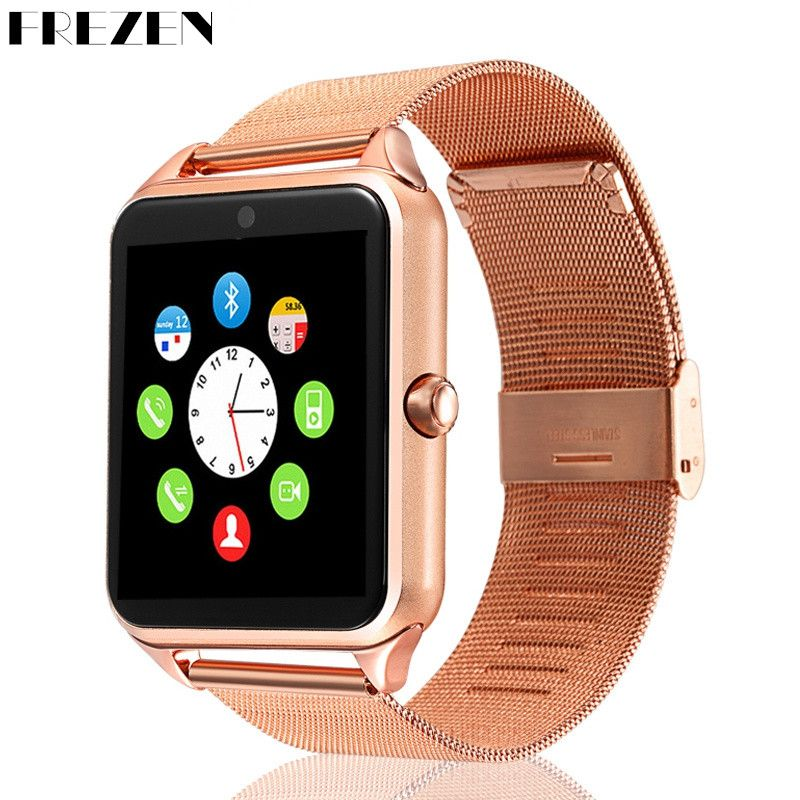 Smart Watch GT08 Clock Sim Bluetooth Connect Android Phone <font><b>Smartwatch</b></font> GT08 PK DZ09 V8 For Men Support Camera Phone TF