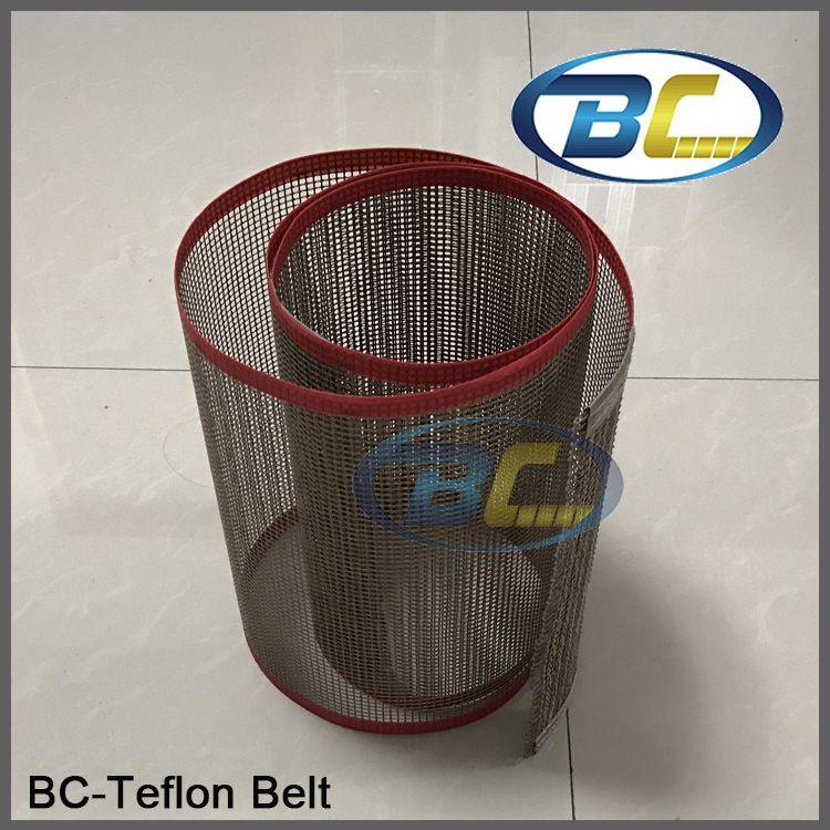 Quality Conveyor Teflon Net Belt Thermal Resistance for Food Processing, Printing Machine, Teflon Cloth Belt