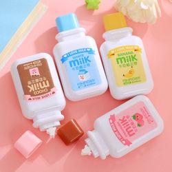 Cute Cartoon Kawaii Milk Style Correction Tape For Kids Gift School Supplies Materials Korean Stationery Novelty Wholesale Item