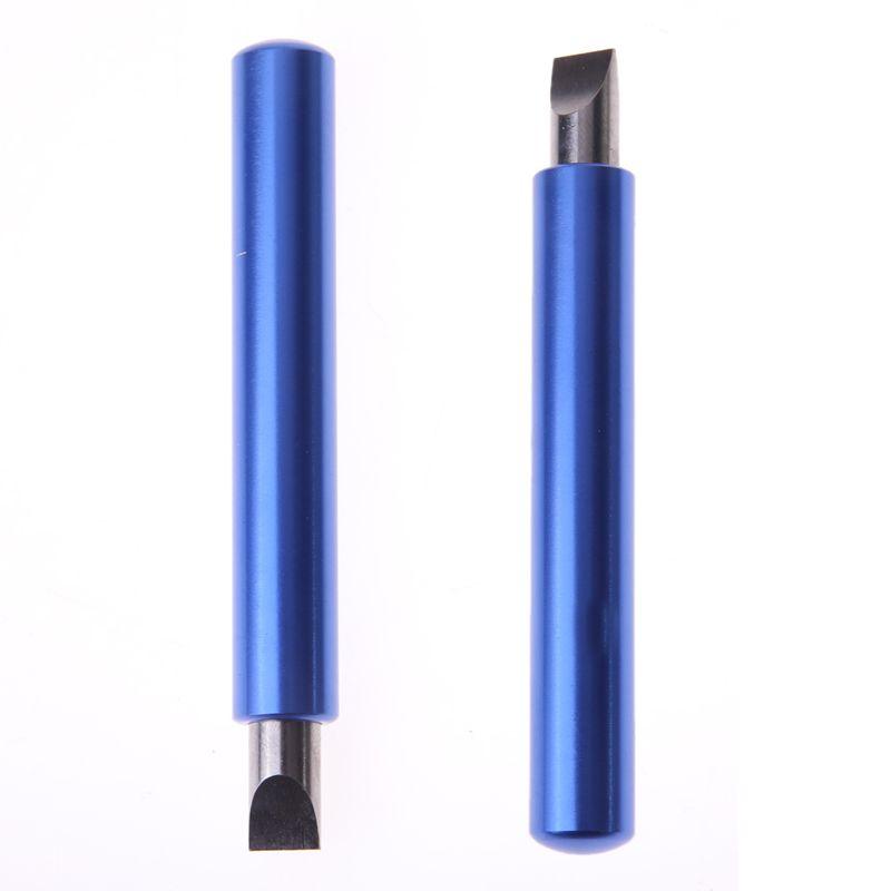 Blue Golf Club Kopf Nutwerkzeugs Golf Club Legierung Keil Schleifwerkzeug V Form Golf Groove Cutter Werkzeug Einstechen Schärfen werkzeug