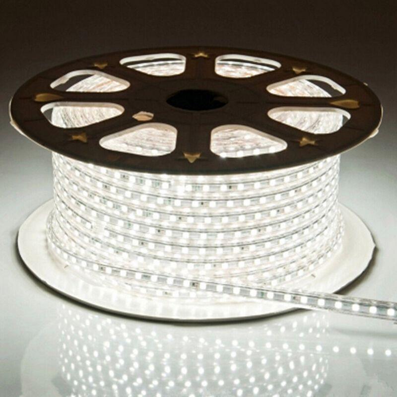 LAIMAIK LED Strip Light 5050 Waterproof IP67 AC 220V LED Light Strip 60leds/m 5050SMD LED Strip Light With Power Plug LED Lights