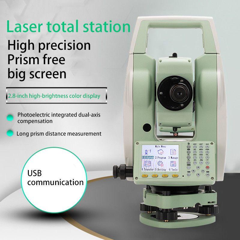 NEUE LETER ATS-120A Farbe bildschirm Reflektorgesamtstation Station