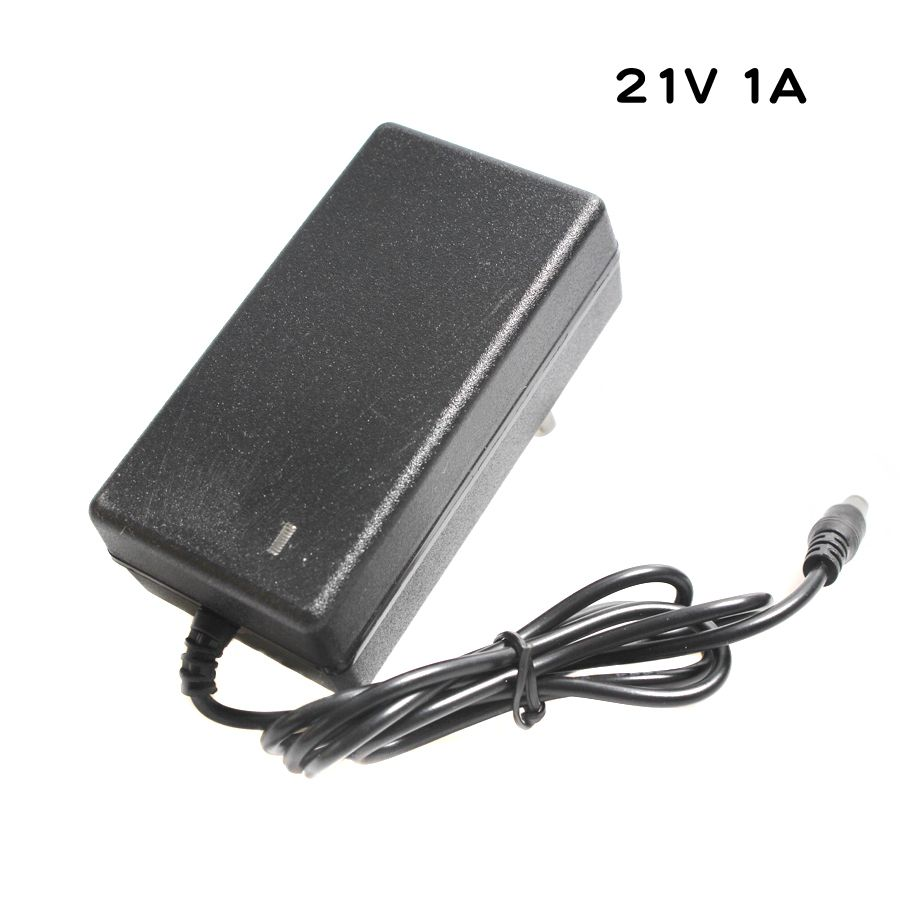21V 1A Lithium Battery Charger For 5 Series 21V lithium Polymer Battery Pack Charger With LED Light Shows