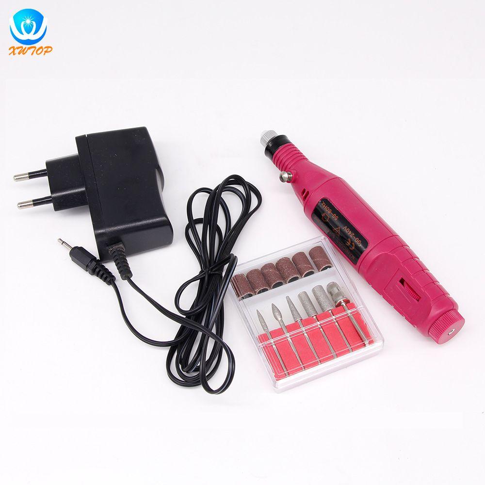 3000 PRM clou perceuse électrique Nail Art stylo perceuse fichier Machine Maniure et pédicure perceuse vernis pour Gel vernis