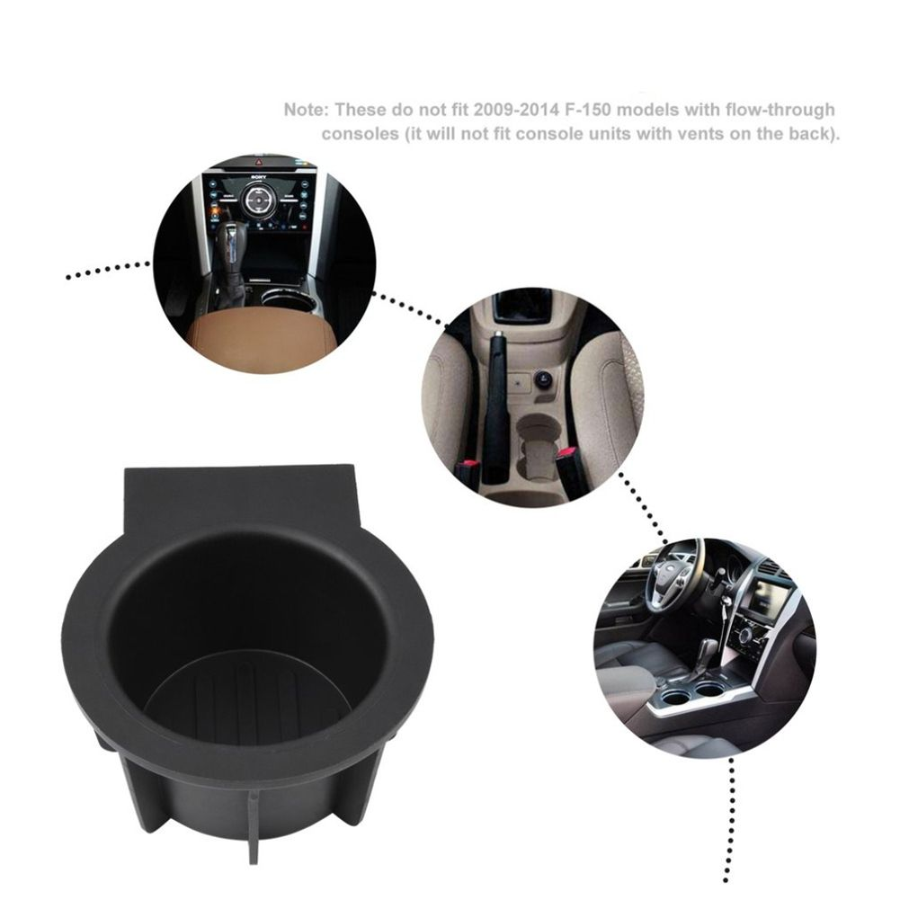 1 Pair Car Cup Accessories Front Console Cup Holder Inserts for Ford F-150 Expedition Navigator Cup Holder Car Styling Hot Sale