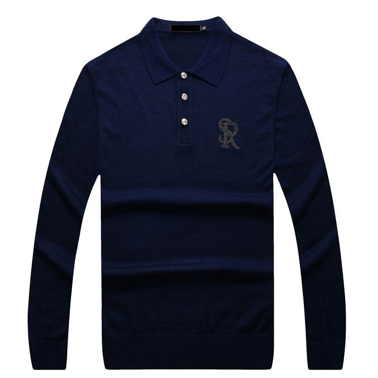 TACE & SHARK Multimillonario de los hombres suéter de 20717 nuevo estilo de otoño comodidad carta de color sólido diseño de alta material de envío gratis