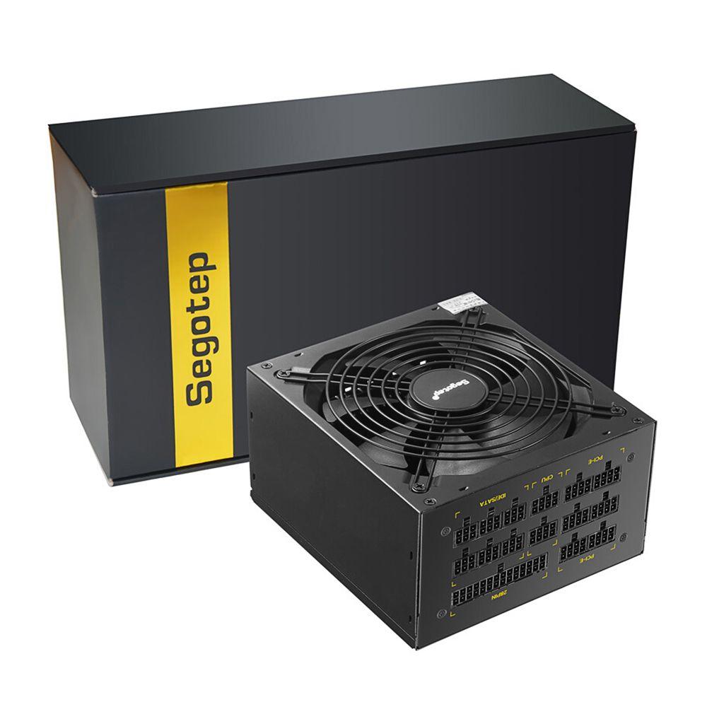 Segotep 1250W GP1350G Full Modular ATX PC Computer Mining Power Supply Gaming PSU Crossfire Active PFC 80Plus Gold