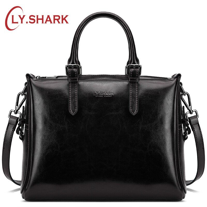 LY.SHARK Brand 2018 Women Handbags Luxury Handbags Women Bags Designer Ladies Genuine Leather Bags Women Shoulder Messenger Tote