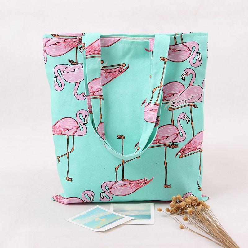 Hommes de Sac À Dos Flamant 3D Impression Sacs À Dos Pour Les Hommes Sac de Cordon De Mode Imprimé Toile Voyage Sac À Dos Femelle Flamingo Bac