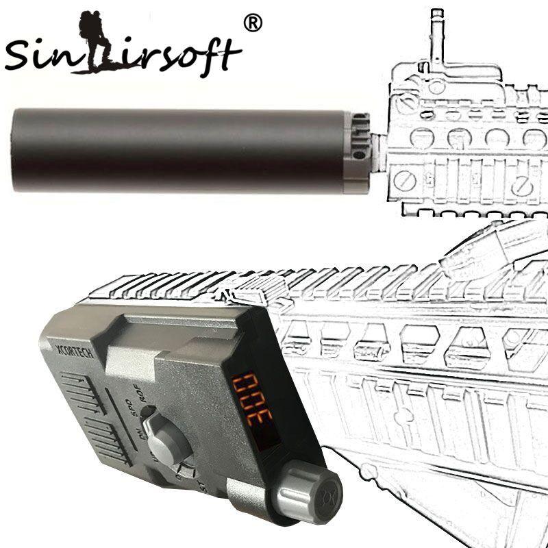 SINAIRSOFT Taktische X3300 XCORTECH MK3 Ball Kugel Schießen Chronograph Speed Erweiterte BB Control Airsoft Paintball Kampf Spiel