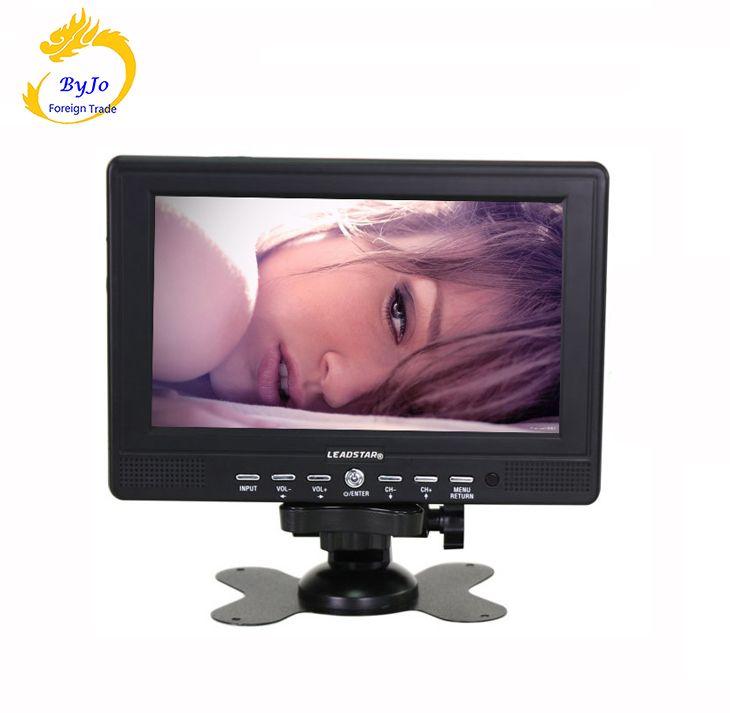 LEADSTAR-7 pouces HD TV Soutien SD/USB identification Automatique de PAL/NTSC/SECAM TV Portable/Surveillance affichage