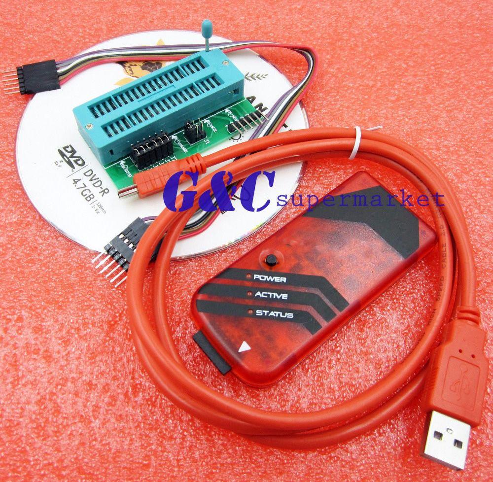 PICkit3 PIC KIT3 Débogueur Programmeur Émulateur PIC Contrôleur Adaptateur Universel Programmeur Siège
