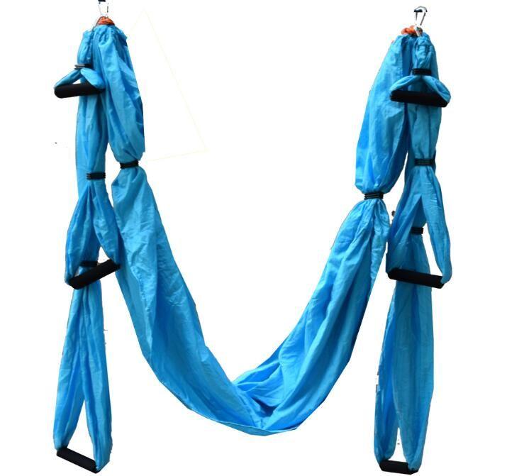 250x145 cm 210 T nylon shioze pas élastique anti gravité Yoga capacité 200 kg air hamac hamac offre une variété de couleurs de marchandises