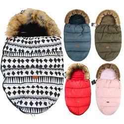 Bebé bolsa de dormir para recién nacidos invierno grueso caliente sacos de dormir para cochecito Sleep Bag para niños cochecito accesorio