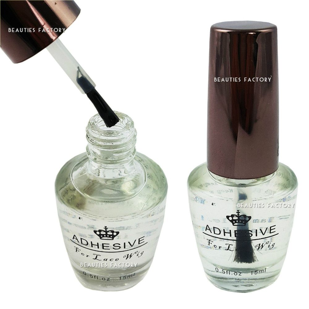5 bottle 0.5 OZ/ 15ml lace wig adhesive/glue solution for beauty salon use  5PCS/LOT Free Shipping